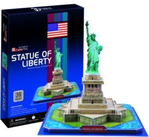 BW Παζλ 3D Άγαλμα Της Ελευθερίας-39Τμχ (C080H)