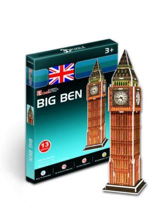BW Παζλ 3D Big Ben-13Τμχ (S3015)