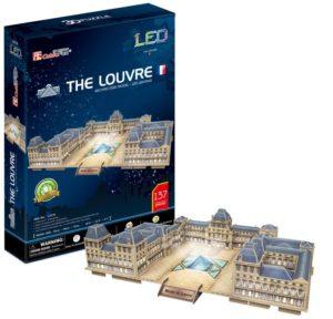 BW Παζλ 3D The Louvre (France) 137Τμχ (L517H)