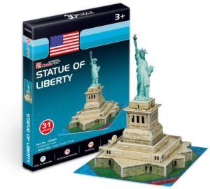 BW Παζλ 3D Statue Of Liberty (USA) 38Τμχ (S3026H)