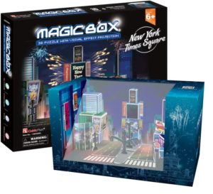 BW Παζλ 3D Magic Box NY Times Square 30Τμχ (OM3608H)