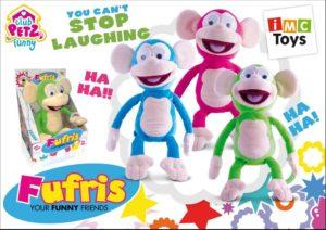 Imc Fufris Λούτρινο Funny Friends-3 Σχέδια (94161)