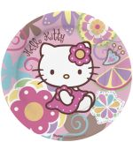 Πιάτα 23cm Hello kitty Bamboo 10 Τμχ (118120)