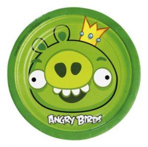 Πιάτα 18cm Angry Birds 8 Τμχ (552361)