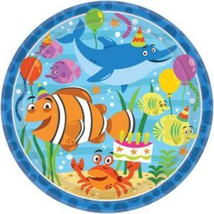 Πιάτα 23cm Ocean Buddies 8Τμχ (551624)