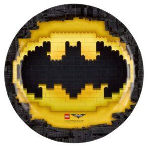 Πιάτα LEGO Batman 23cm-8Τμχ (M9901822)