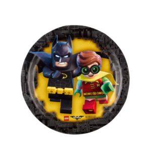 Πιάτα LEGO Batman 18cm-8Τμχ (M9901823)