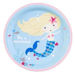 Πιάτα Be A Mermaid 23cm-8Τμχ (M9903030)