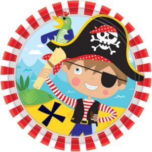 Πιάτα Pirate 18cm-8Τμχ (M541622)