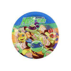 Πιάτα Χελωνονιτζάκια Half Self Heroes 18cm-8Τμχ (M9901313)