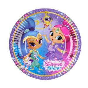 Πιάτα Shimmer & Shine 18cm-8Τμχ (M9902153)