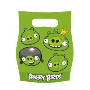Τσάντες Δώρων Angry Birds 6 Τμχ (552366)
