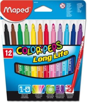 Maped 12 Μαρκαδόροι Color'Peps (845020)