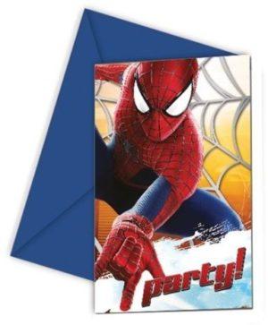 Προσκλήσεις The Amazing Spiderman 2-6Τμχ (82946)