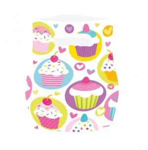 Τσάντες Δώρων Cupcake 6Τμχ (997215)