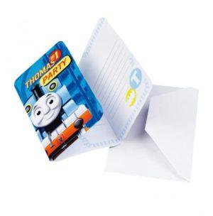 Προσκλήσεις Thomas & Friends 6Τμχ (552164)