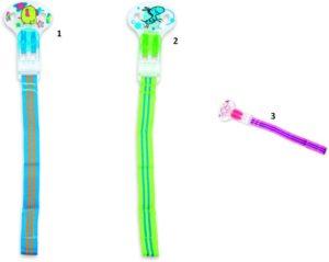 Nuby Αλυσίδα Πιπίλας Με Velcro-3 Σχέδια (ID5799)