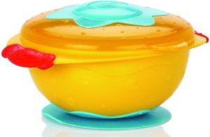 Nuby Μπωλ PP Βεντούζα Για Φούρνο Μικροκυμάτων-3 Χρώματα (ID5322)
