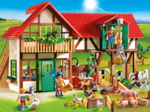Playmobil Μεγάλη Φάρμα Ζώων (6120)