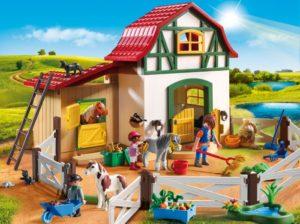 Playmobil Φάρμα Των Πόνυ (6927)