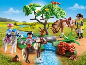 Playmobil Παιδάκια Με Πόνυ & Εκπαιδευτής Με Άλογο (6947)