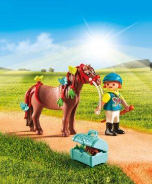 Playmobil Πόνυ Με Πεταλούδες & Κοριτσάκι (6971)