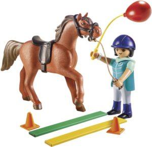 Playmobil Εκπαιδεύτρια Αλόγων (9259)