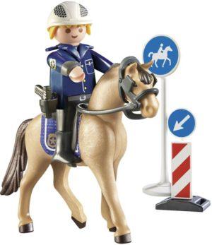 Playmobil Έφιππος Αστυνομικός (9260)