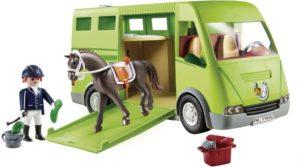 Playmobil Όχημα Μεταφοράς Αλόγων (6928)
