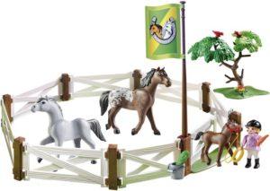 Playmobil Άλογα Με Περίφραξη (6931)