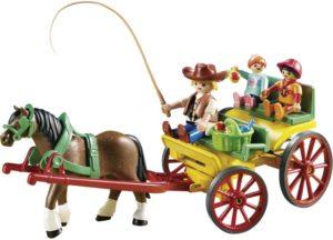 Playmobil Άμαξα Με Οδηγό & Παιδάκια (6932)