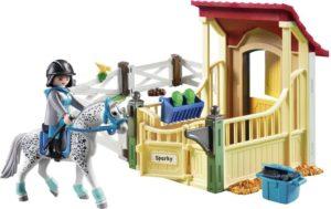 Playmobil Άλογο Απαλούζα Με Στάβλο (6935)