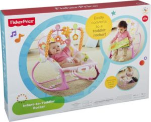 Fisher Price Infant To Toddler Ροζ-Κούνια (Y8184)