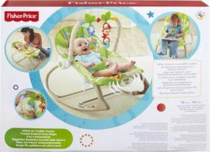 Fisher Price Infant To Toddler-Ριλάξ/Κούνια (CBF52)