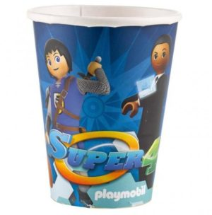 Ποτήρια 250ml Playmobil 8Τμχ (M9900180)
