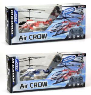 Silverlit Τηλεκατευθυνόμενο Ελικόπτερο I/R Air Crow (2CH)-2 Σχέδια (7530-84710)