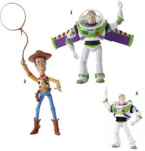 Toy Story Deluxe Φιγούρες-3 Σχέδια (Y4569)