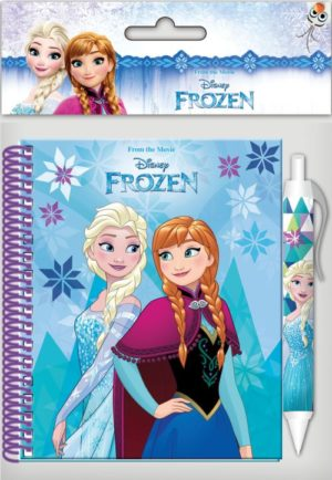 Frozen Σημειωματάριο 10x15cm Με Στυλό (0561808)