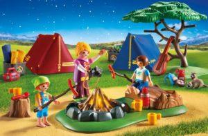 Playmobil Σκηνές Με Παιδάκια & Φωτιά LED (6888)