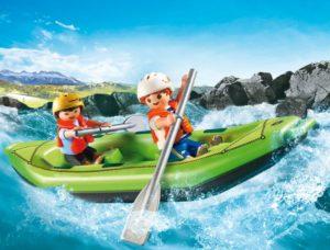 Playmobil Βάρκα Ράφτινγκ Με Παιδάκια (6892)