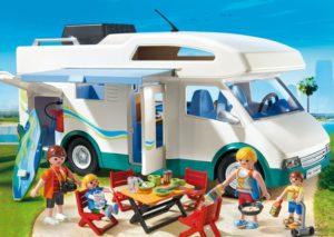 Playmobil Οικογενειακό Τροχόσπιτο (6671)