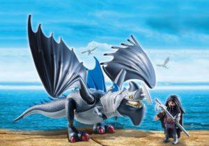 Playmobil Dragons Ο Ντράγκο Με Τον Θωρακισμένο Δράκο (9248)