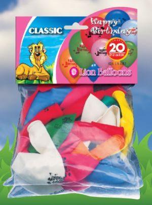 Μπαλόνια Happy Birthday 20 Τμχ (161002)