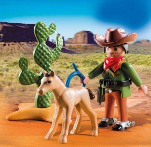 Playmobil Special Plus Cowboy Με Πουλάρι (5373)