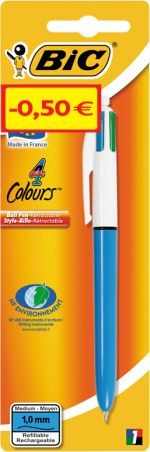 Bic Στυλό 4 Colour Medium (920283)