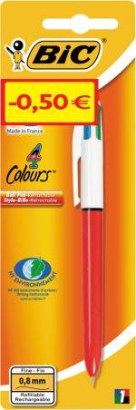 Bic Στυλό 4 Colour Fine (920284)