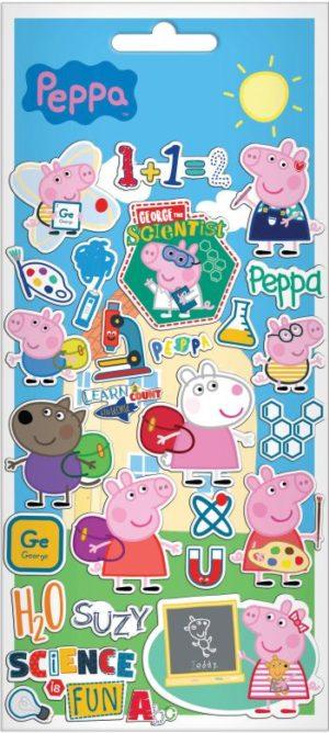 Peppa Pig Αυτοκόλλητα Puffy 10x22cm (0482358)