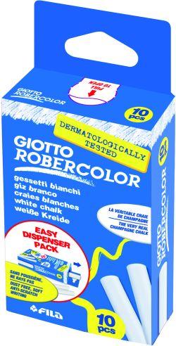Giotto Πλαστική Κιμωλία Λευκή-10Τμχ (536800)