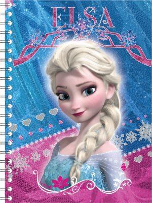 Frozen Τετράδιο Σπιράλ 2 Θεμάτων 17X25 64 Φύλλων-2 Σχέδια (0561182)