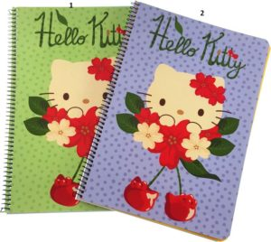 Hello Kitty Cherry Land Τετράδιο Σπιράλ 3 Θεμάτων 17x25 1Τμχ-2 Σχέδια (16903)